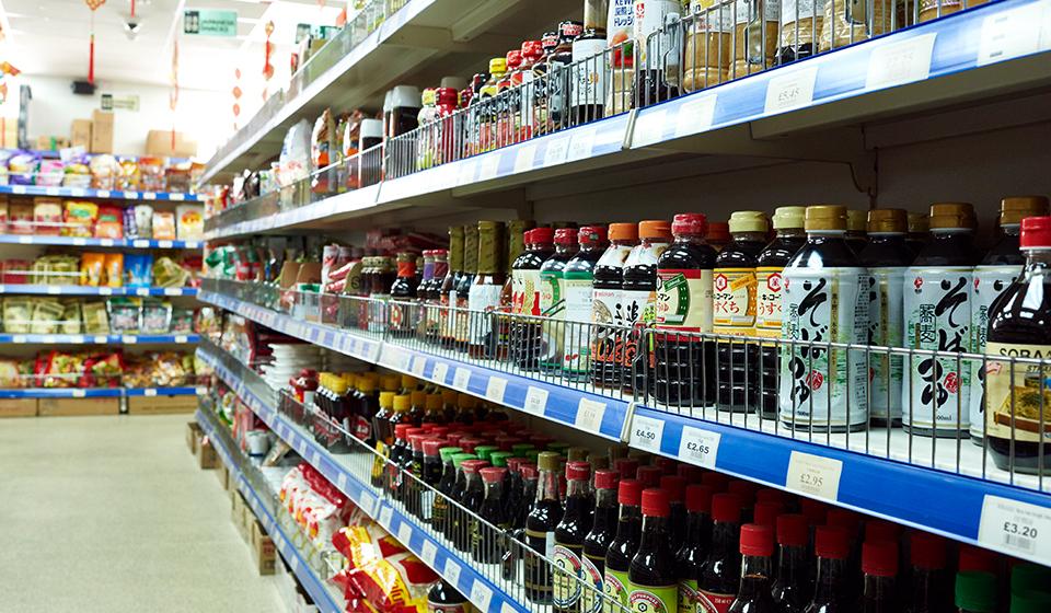 新龙门行超市酱料