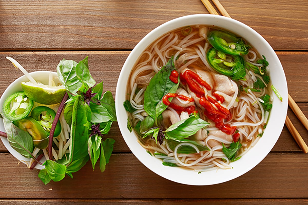 chinatown london-le hanoi chicken pho