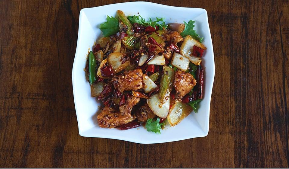 chinatown london-royal dragon kung pao chicken