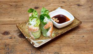 Viet Food 大虾春卷