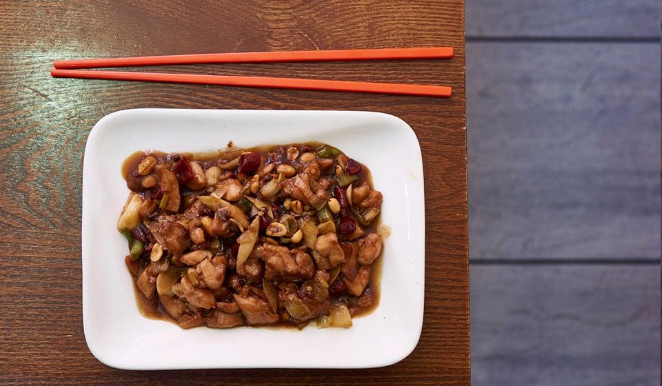 chinatown london-kung pao chicken