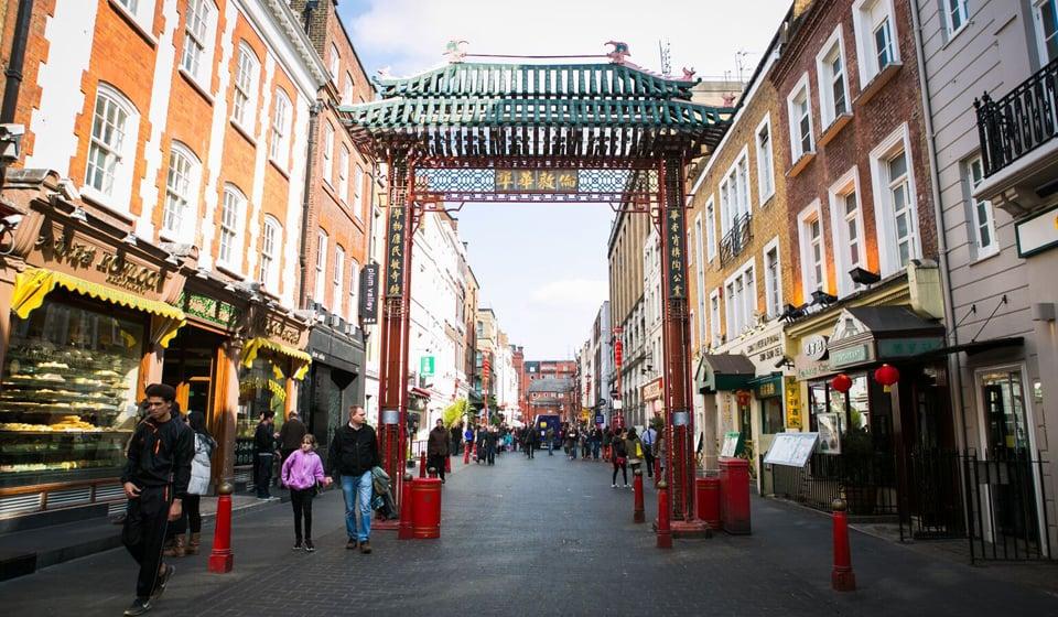 中国城历史