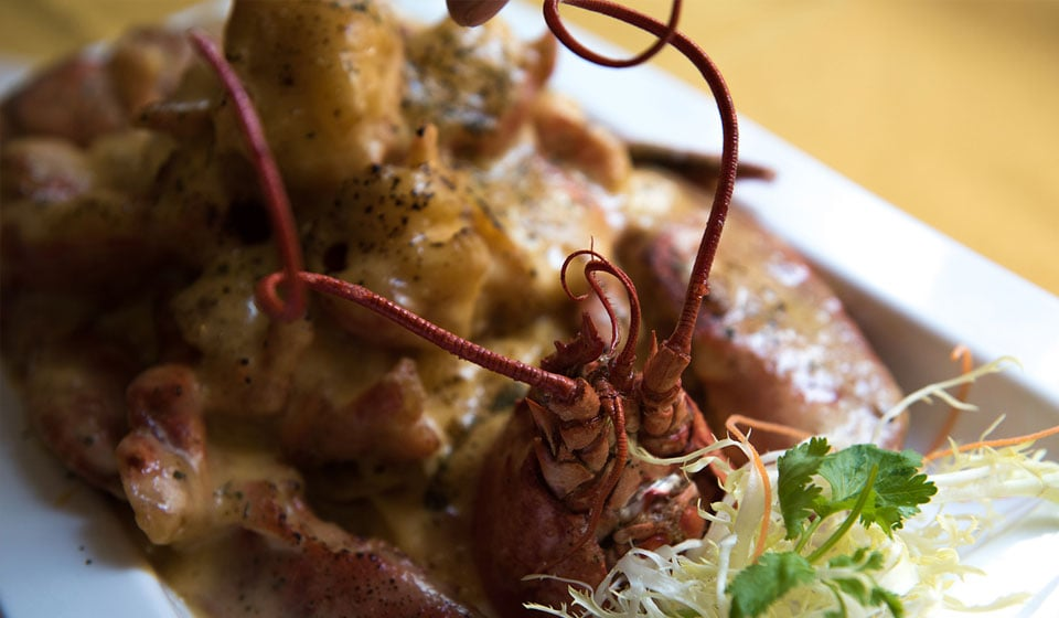 文兴酒家豉汁焗龙虾