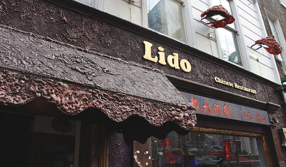 lido chinatown front door
