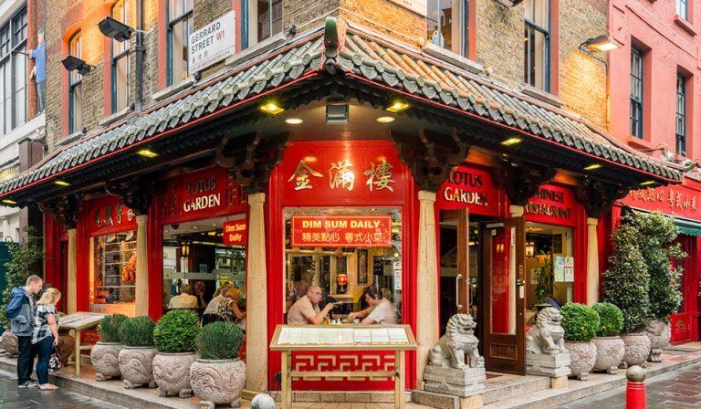 Lotus Garden Restaurant Gerrard Street Chinatown London