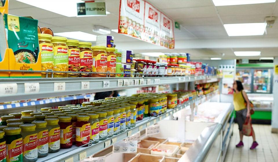新龙门行超市内部1