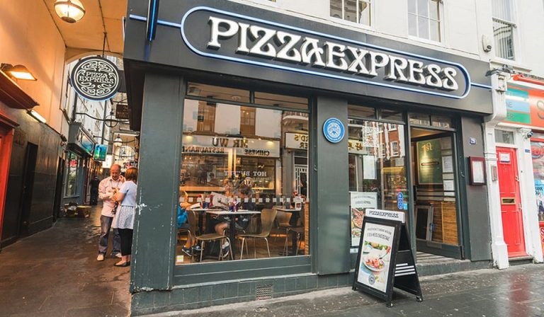 Pizza Express Soho Wardour Street Chinatown London
