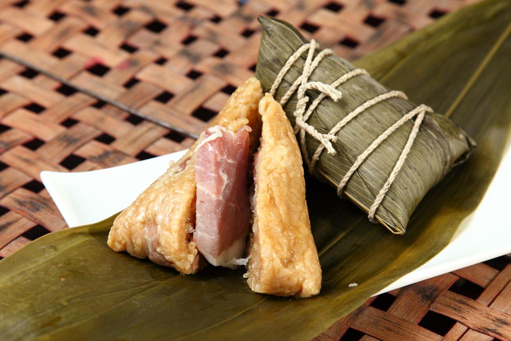 meat zongzi