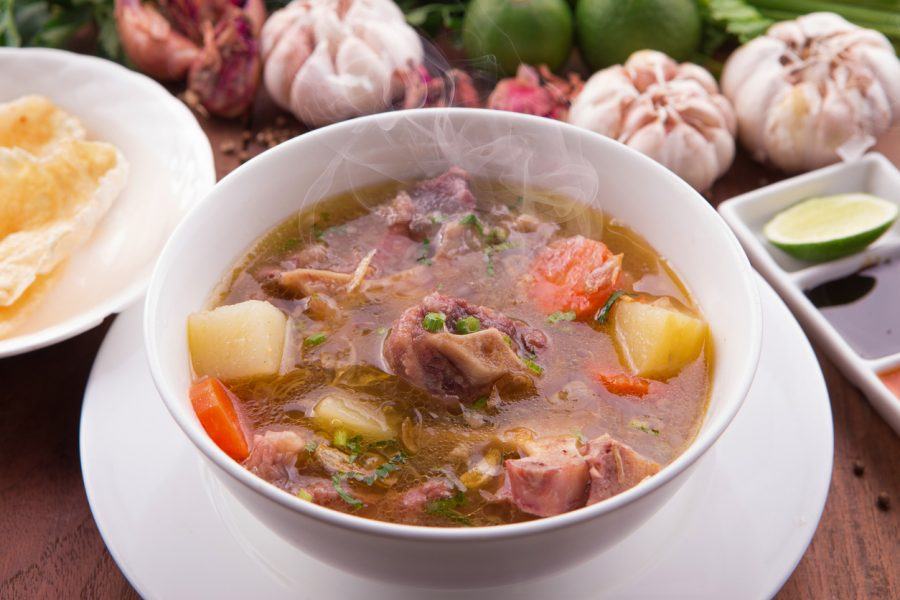 chinatown london-oxtail soup 3