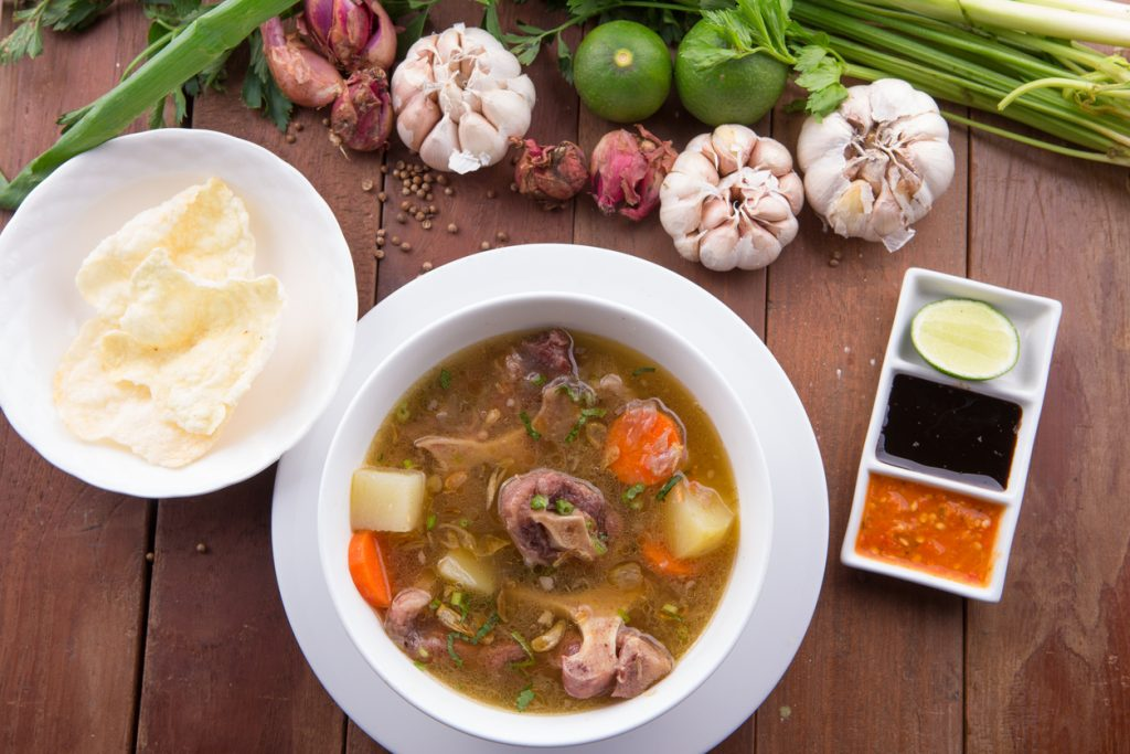 chinatown london-oxtail soup 1
