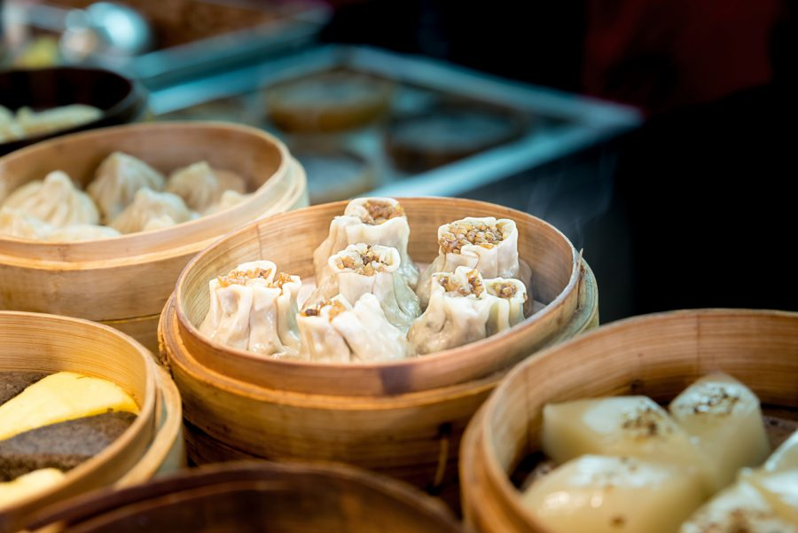 chinatown london-shumai