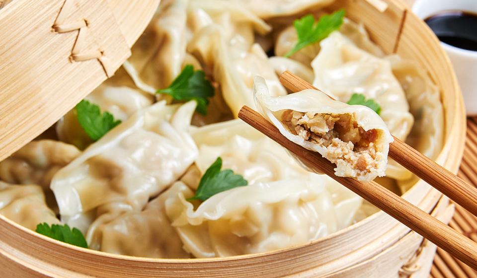 chinatown london-dumplings