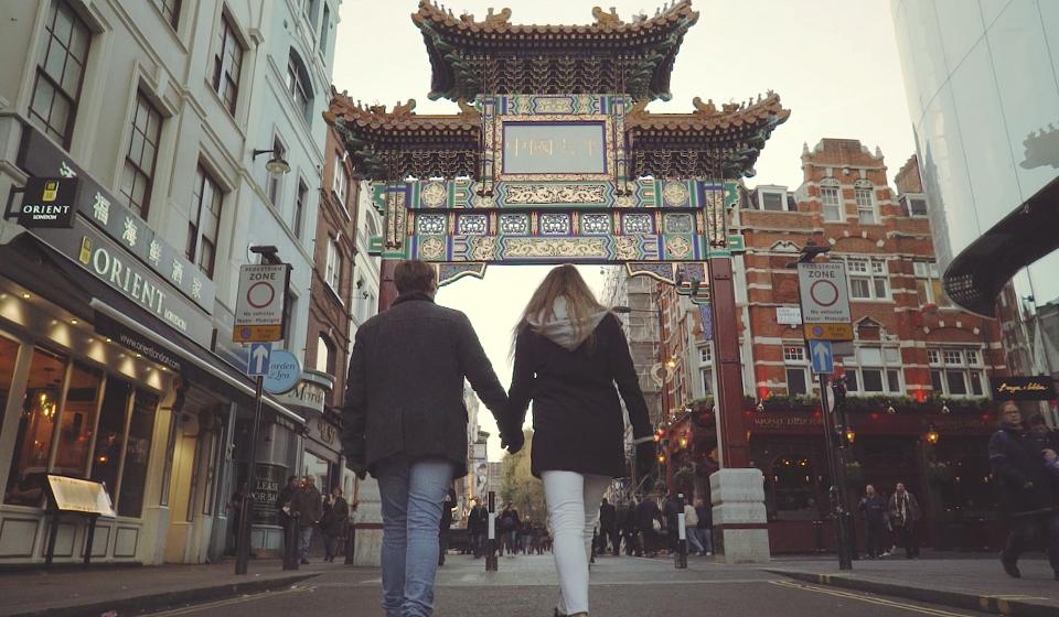 chinatown london-chinatown gate
