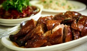 chinatown london-roast duck peking