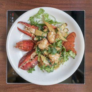 伦敦中国城-文兴小厨葱姜龙虾