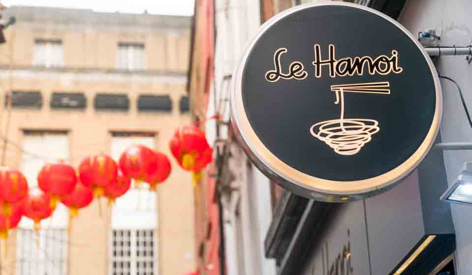 chinatown london-le hanoi exterior
