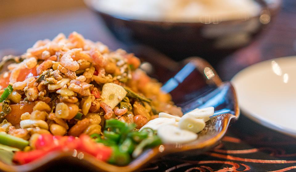 chinatown london-shan state dish