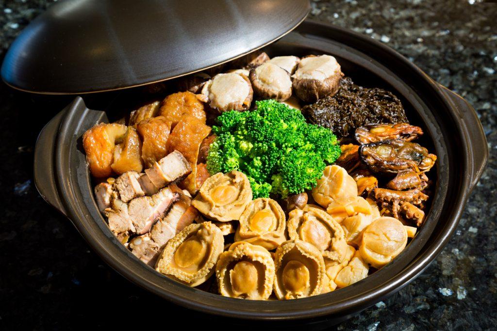 chinatown london-Abalone mixed dish