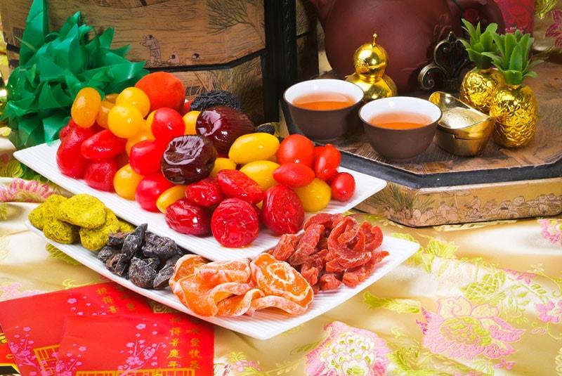 伦敦中国城-腌渍水果