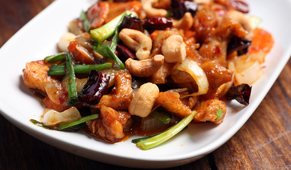 chinatown london-new china london Chicken with Cashew Nuts