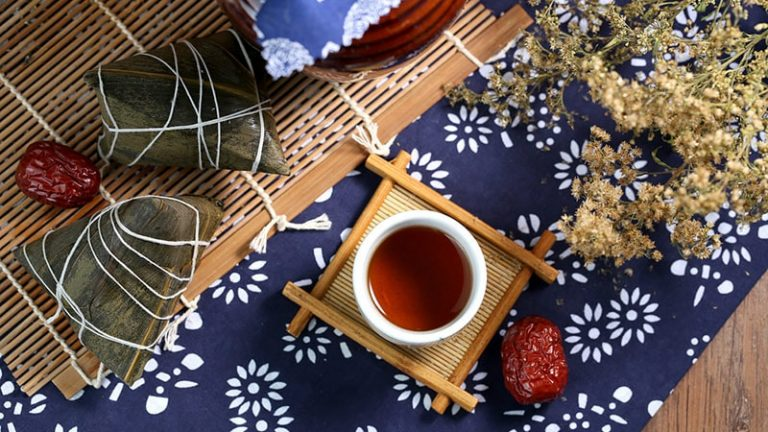 zongzi and xionghuang wine