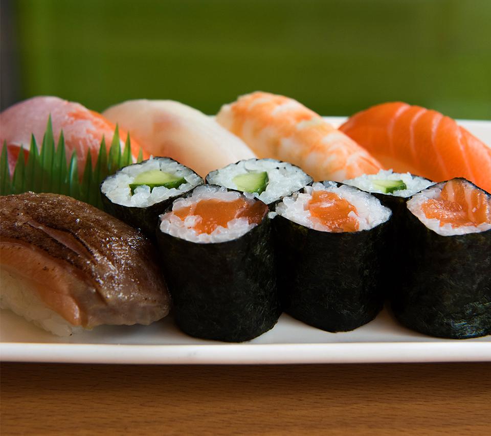 Sushi at Misato