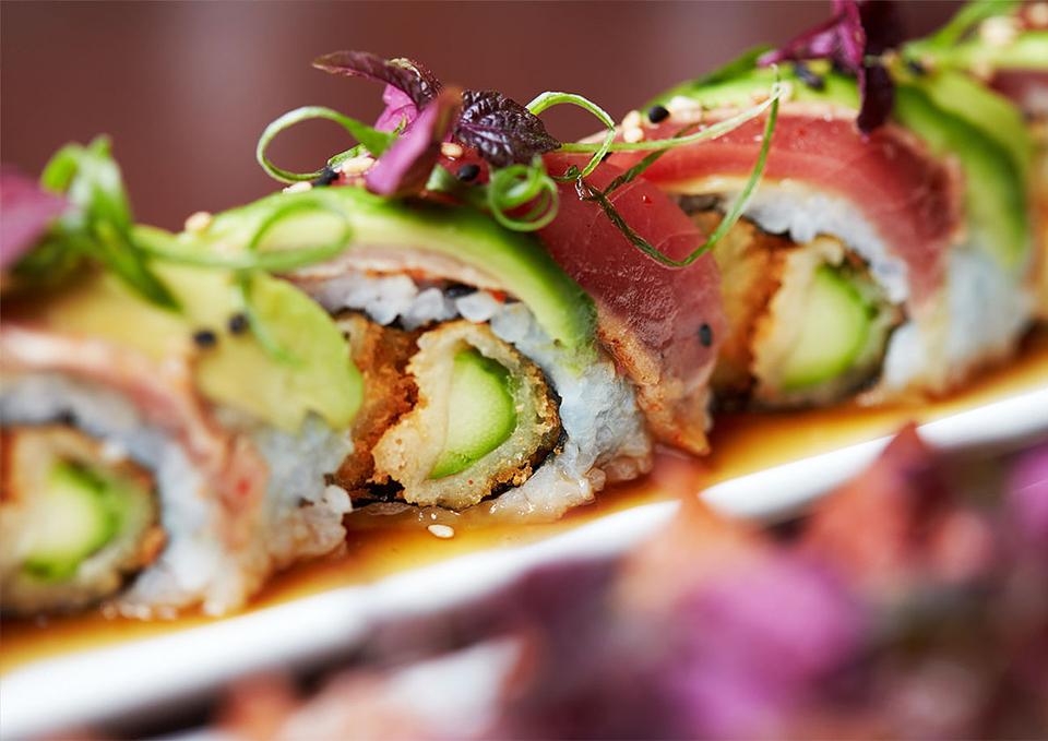 Sushi at Oka