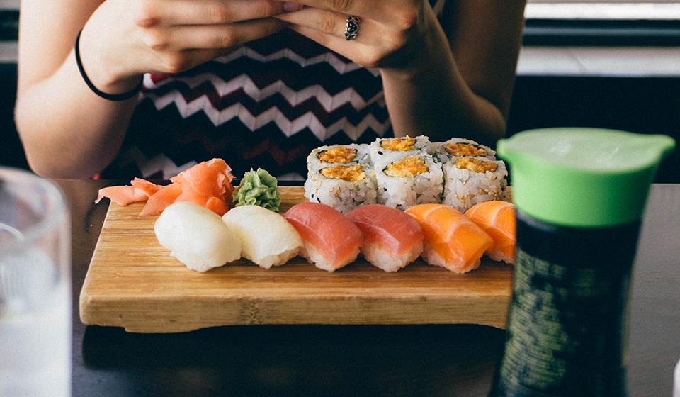 Sushi at Tokyo Diner