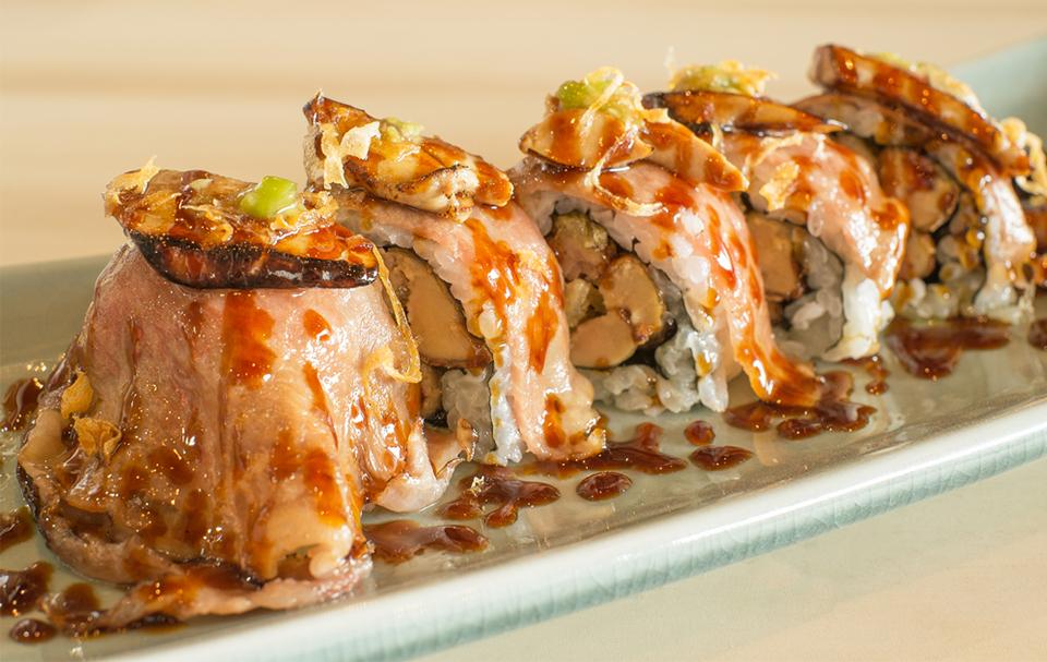 Sushi at ICHIBUNS