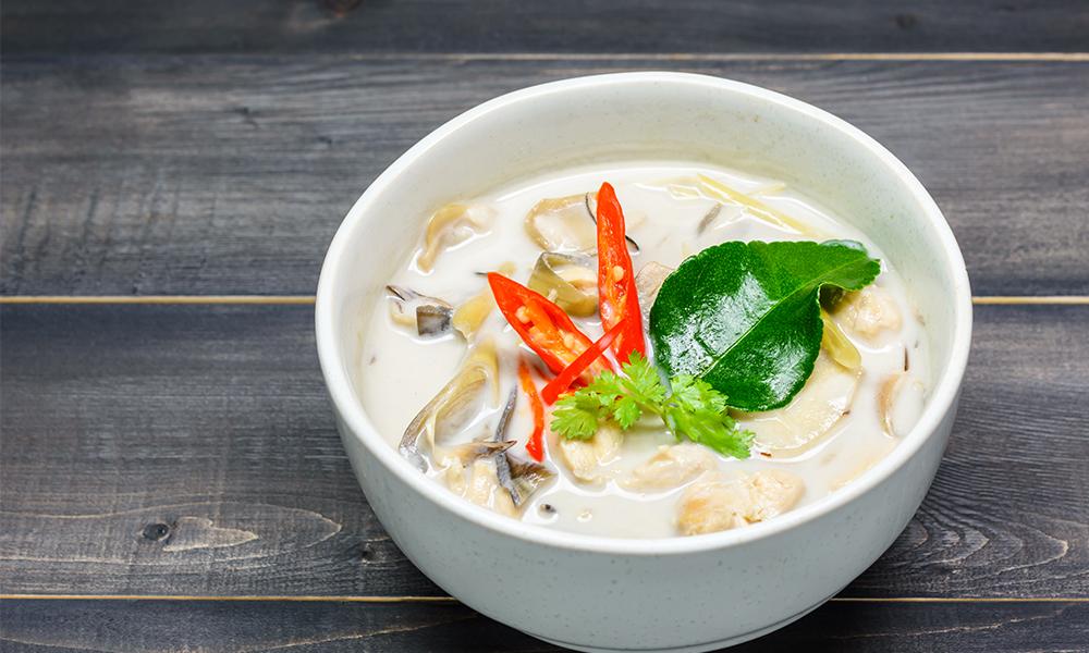 Tom kha gai – Thai Tho