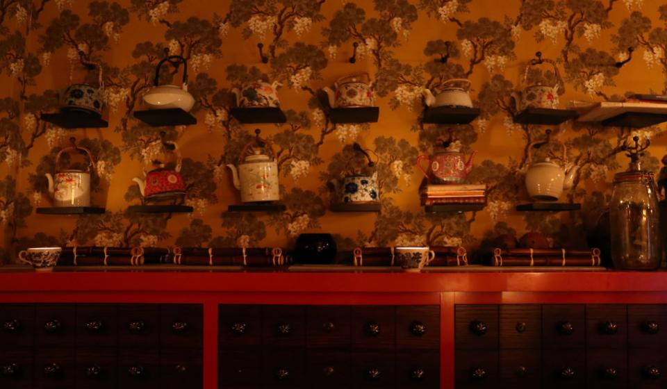 Inside Opium Chinatown London