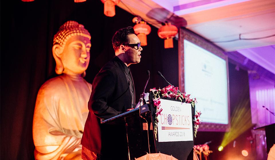 Gok Wan golden chopsticks awards