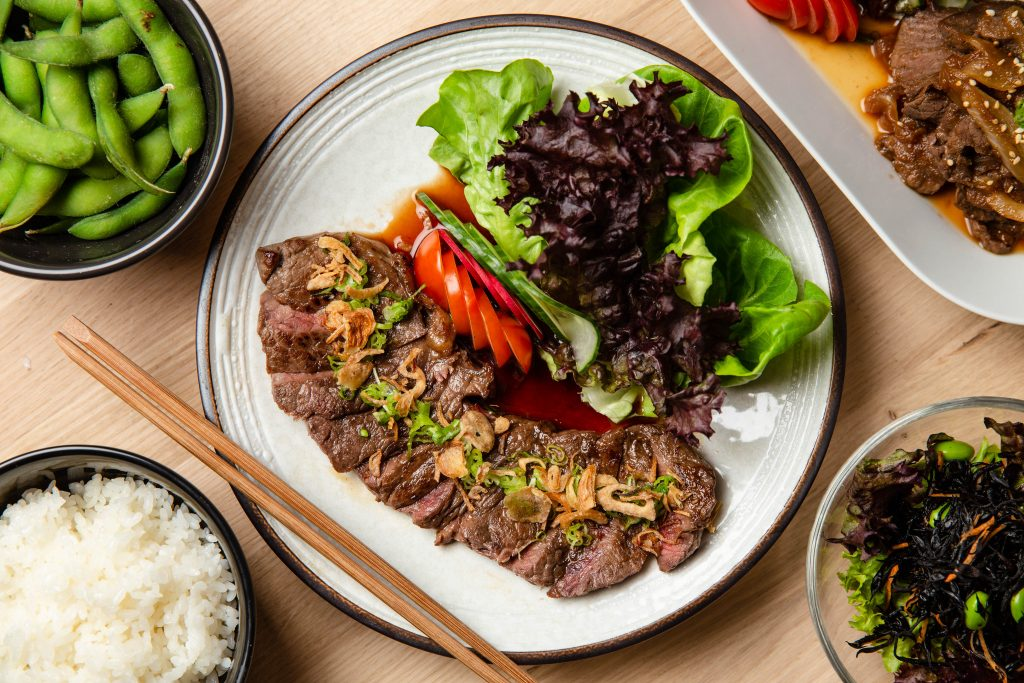 mitsuryu beef steak