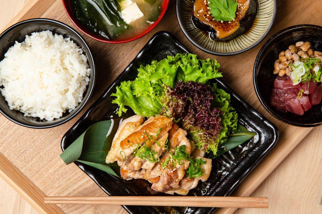 mitsuryu chicken Teriyaki